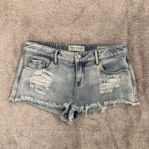 Bullhead Shorts- Light wash
